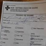 pedido de exame de gravidez a criança de seis anos