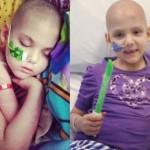 Menina está livre de leucemia