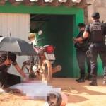 Suspeitos se passam por policiais civis e matam homem