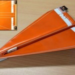 avião de papel com sensores pode ser pilotado