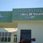hospital regional de sorriso