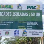 iniciada a construção de casas populares em Alta Floresta