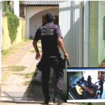 policia fecha o cerco