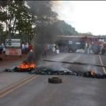 protesto fecha rodovia