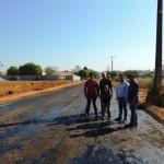 Obras de pavimentação da avenida Teles Pires seguem a todo vapor em Alta Floresta