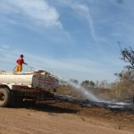 Focos de queimadas toma conta de várias áreas no perimero urbano