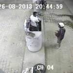 Imagens do circuito de segurança podem ajudar polícia identificar assaltante de posto de combustível