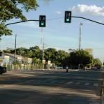 Semáforos ajudam na redução de acidentes no centro de AF