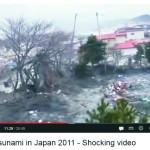novo vídeo de tsunami no Japão em 2011 é divulgado na web