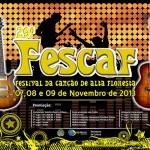 Inscrições para  o FESCAF são prorrogadas para mais uma semana