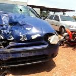 Motociclista perde a vida em colisão frontal com carro