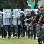 Exército de MS desloca 1,1 mil homens para atuarem em Cuiabá