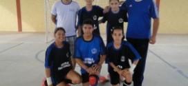 JOGOS ESTADUAIS: Futsal feminino de Carlinda esta na semi-final