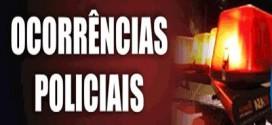 OCORRÊNCIAS POLICIAIS DO FINAL DE SEMANA