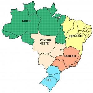 mp rg Mapa regioes do Brasil2