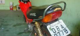Polícia apreende moto com placa adulterada