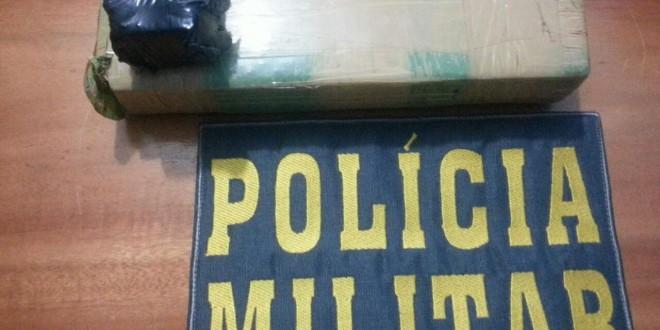 Polícia apreende um quilo de maconha em Nova Bandeirantes