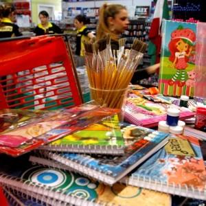 blumenews - material escolar papelarias
