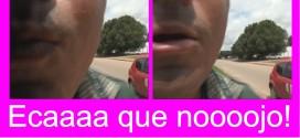 Beijoqueiro da Floresta; Zé Aparecido se despede tentando dar beijoca em cinegrafista