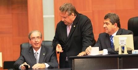 Em Cuiabá, Presidente da Câmara Federal, Eduardo Cunha, diz que vota reforma política esse ano ainda