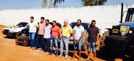 Polícia Civil prende sete traficantes com droga e veículos na fronteira