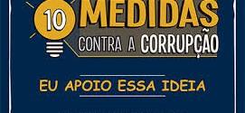 Ministérios Públicos lançam campanha nesta quinta e convocam população para movimento contra corrupção