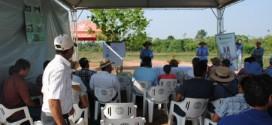 Problemas e soluções na piscicultura são discutidos em Dia de Campo em Alta Floresta com produtores rurais