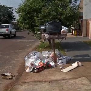 Lixo em Sinop