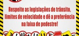 Em Paranaíta Campanha visa conscientização para um trânsito melhor
