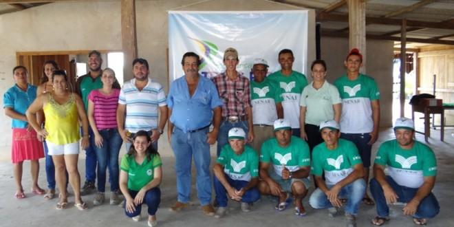 CHTP incentiva plantio de árvores em assentamento de Paranaíta