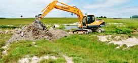 Projeto Olhos D' Água continua com escavação de tanques