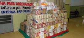 Campanha para arrecadação de alimentos para o Hospital do Câncer de Mato Grosso é realizada pela FAF/FADAF