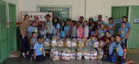 Alunos da Escola Municipal Geny Silvério Delarincy realizaram Gincana Solidária