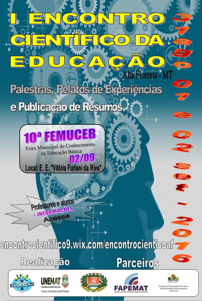 cartaz final do evento