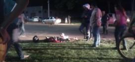 Dupla com simulacro de arma de fogo acaba baleada após tentativa de roubo em Alta Floresta