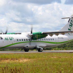 aeronave Turbohélice ATR 72-212 da map