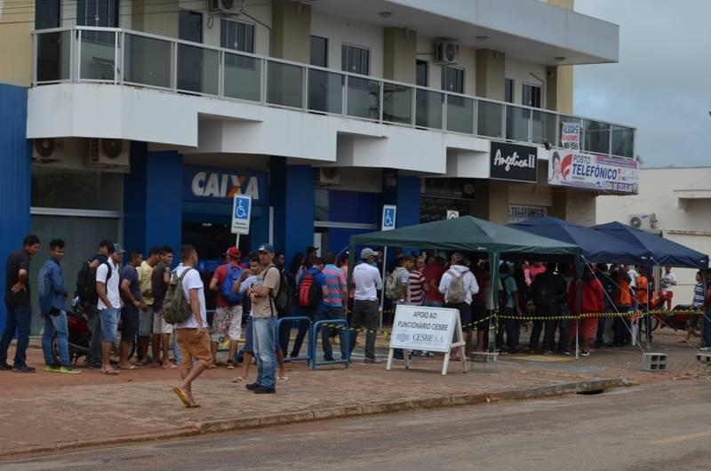 Caixa economica em Paranaúta