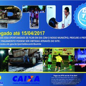 IPTU 2017 PRORROGADO OK