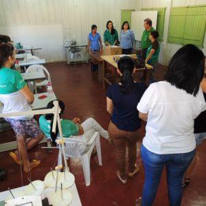 Assistência Social inicia curso de confecção de lingerie