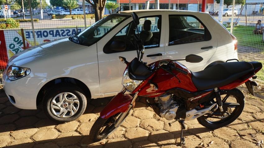 Carro e Moto para Show de Prêmios da 31ª Expoalta