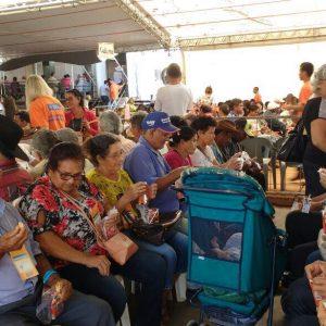 159 pacientes de Apiacás estão sendo atendidos na 7ª Edição da Caravana da Transformação