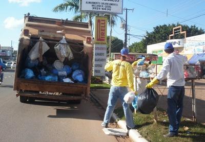 Vereador cobra Secretaria de Obras para a retomada da coleta de lixo seco em Alta Floresta