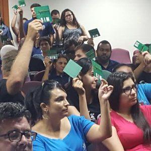 Servidores do Detran aprovam indicativo de greve