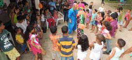 CREAS realiza festa do Dia das Crianças