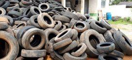 Sem espaço no barracão, coleta de pneus feita pela Vigilância Ambiental está suspensa em Alta Floresta