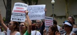 MOVIMENTO: Moradores da zona sul do Rio vão às ruas em protesto contra a violência