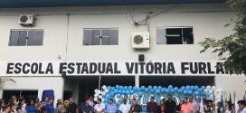 Vitória Furlani da Riva, primeira escola estadual de AF comemora 41 anos