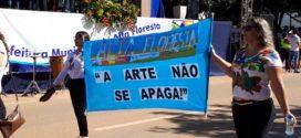 Sucesso: Milhares de pessoas comparecem no Desfile Cívico para comemorar os 42 anos de Alta Floresta