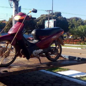 motoclicleta apreendida