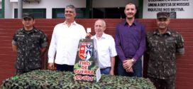 Sorteio da rifa em prol aos atiradores do Tiro de Guerra foi realizada na última sexta-feira